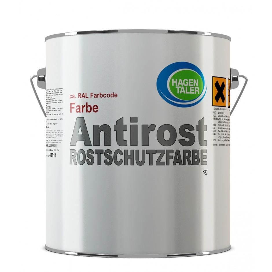 Hagentaler Antirost Rostschutzfarbe grau