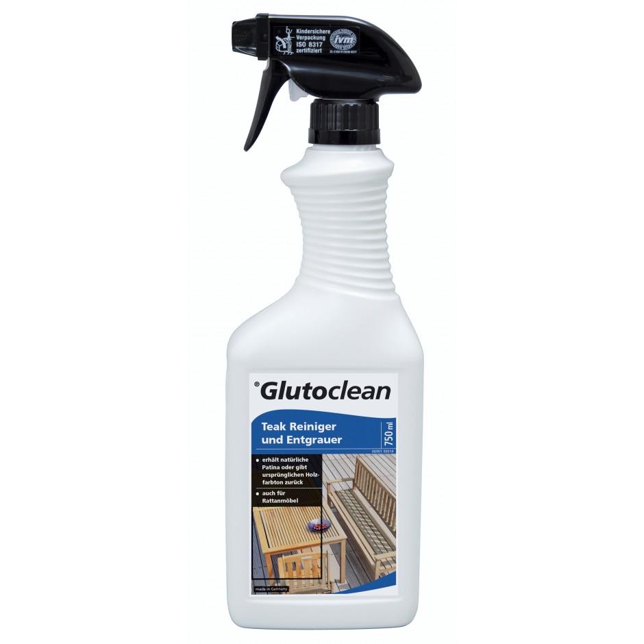 Glutoclean Teak Reiniger und Entgrauer