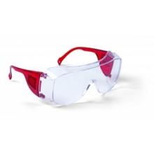 Schutzbrille EN 166 rot
