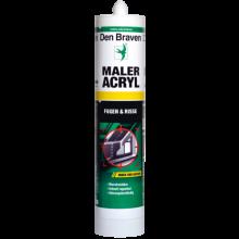 Maleracrylkartusche weiß 310 ml