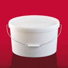 Ovaleimer EO 1000 weiß (10 l)