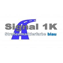 Signal 1 K Strassenmarkierungsfarbe blau