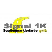 Signal 1 K Strassenmarkierungsfarbe gelb