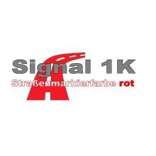 Signal 1 K Strassenmarkierungsfarbe rot