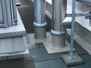 Details-Rohr-Wandanschluss